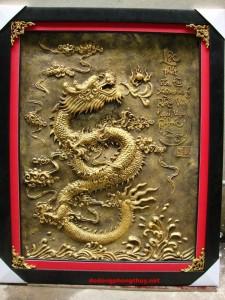 12 mẫu tranh đồng rồng và tượng đồng rồng vàng phong thủy