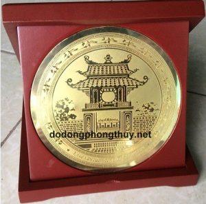 quà tặng khuê văn các bằng đồng đẹp 0986.468.300