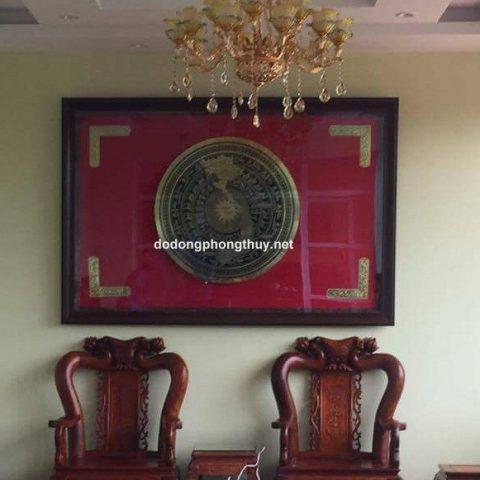 4 mẫu trống đồng cỡ lớn họa tiết sắc nét cho hội trường, phòng họp