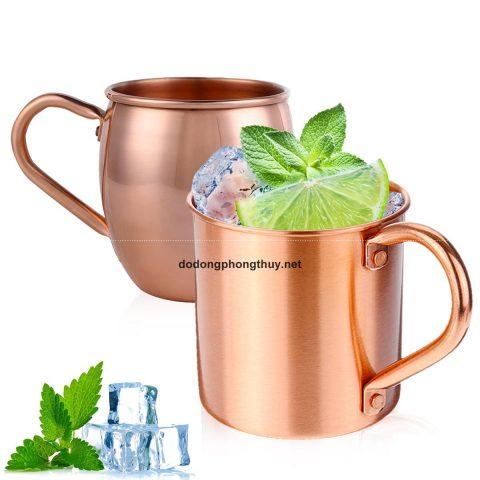 16 mẫu cốc đồng uống nước tuyệt đẹp tốt cho sức khỏe