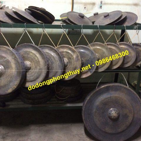 xưởng sản xuất cồng chiêng đồng